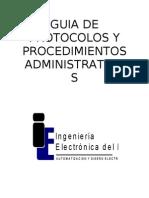 0guia de Protocolos y Procedimientos Administrativos