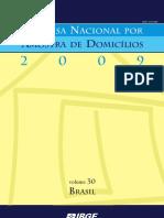 Pesquisa Nacional por Amostra de Domicílio 2009