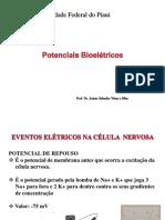 Fisiologia dos Potenciais Bioel+®tricos