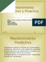 Mantenimiento Predictivo y Proactivo