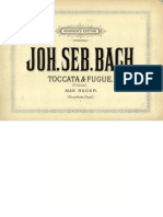 Bach Toccata Et Fugue 4 Mains