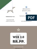 El uso de la Web 2.0 en la labor de un Relaciones Públicas. Susana Antón
