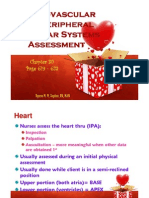 Cardio and Peripheral Assessments