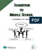 Middle School Booklet for Parents (Rev Mar 11)