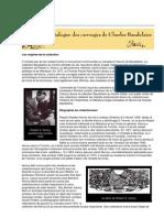 Baudelaire - Catalogue Des Ouvrages
