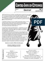 Bulletin de Contre-Info en Cevennes N°5