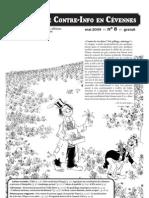 Bulletin de Contre-Info en Cevennes N°8