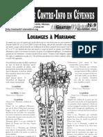 Bulletin de Contre-Info en Cevennes N°9