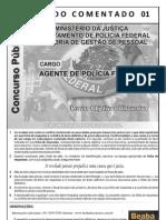 SIMULADO + REDAÇÃO - PF