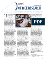 RT Vol. 8, No. 4 100 years of rice research
