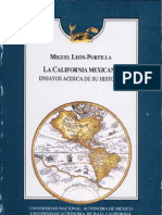 Leon-Portilla - La California Mexicana (Cochimi)