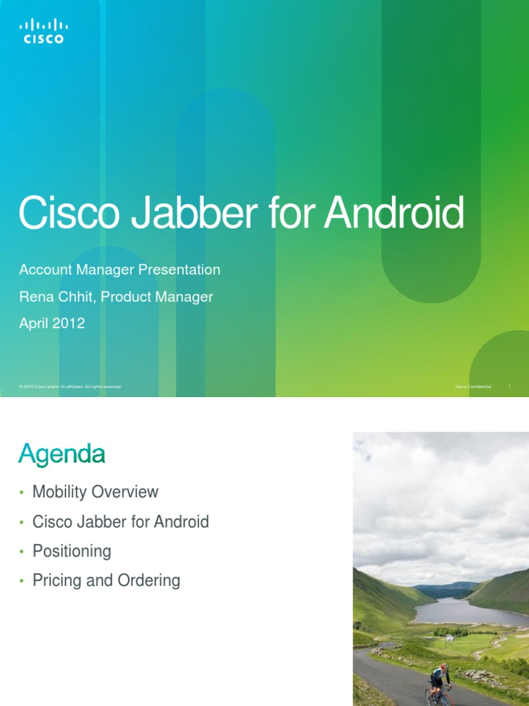 Jabber for Android 8 6 AM | Android (Operating System) (124