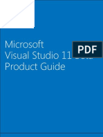 Visual Studio 11 Beta Product Guide