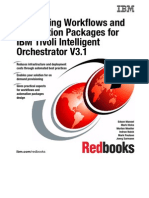 Developing Workflows and Automation Packages for IBM Tivoli Intelligent Orchestra Tor V3.1 Sg246057