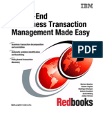 End-To-End E-business Transaction Management Made Easy Sg246080