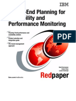 End-To-End Planning for Availability and Performance Monitoring Redp4371