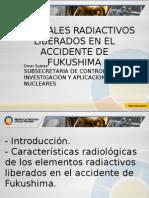 Materiales Radiactivos Liberados en El Accidente de Fukushima Chk