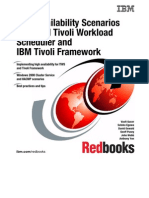 High Availability Scenarios With IBM Tivoli Workload Scheduler and IBM Tivoli Framework Sg246632