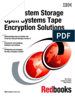 IBM System Storage Open Systems Tape Encryption Solutions Sg247907