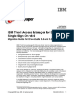 IBM Tivoli Access Manager for Enterprise Single Sign-On v8.0 Migration Guide for Encentuate 3.4 and 3.5 Redp4615