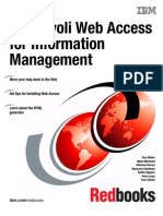 IBM Tivoli Web Access for Information Management Sg246823