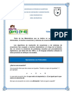Algebra Propedeutico Virtual FCA