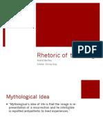 Rhetoric of the Image
