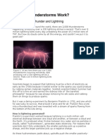 How Do Thunderstorms Work