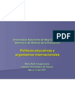 políticas  educativas