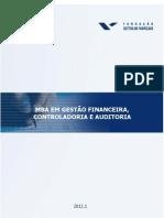 MBA em Gestão Financeira Controladoria e Auditoria