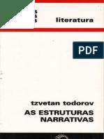 TODOROV Tzvetan as Estruturas Narrativas