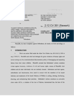 Complaint Ben-Haim v. Neeman, Et Al