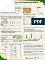 Ex-ante Impact Assessment of Green Super Rice (GSR) varieties in Southeast and South Asia