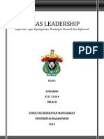 Gaya Dan Tipe Kepemimpinan