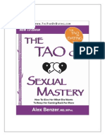 Dr. Alex Benzer - The Tao of Sexual Mastery