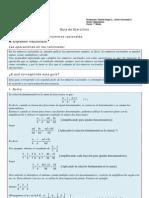 Guía de ejercicios Números Racionales parte2