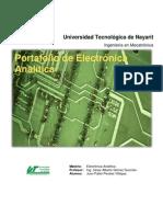 Informe para la materia de Electrónica Análitica