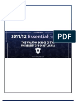 The 2012 Essential Guide to the Wharton School