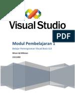 Ikhsan Aji W | Modul 1 Pemrograman VB 6.0