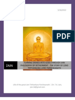 Turning Snakes Into Gods Through Jain Philosophy of Detachment - The 22nd Tirthankara Lord Parshwanath