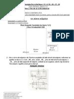 33) Receita De Tricô Á Máquina - Meia Soquete Canelada Em Lã Industrial Fios Amparo Super Soft Inverno Acrílico HB 2/28 - Na Barra 1 X 1 nº 35 – 36 – 37 - 38