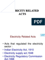 Electricity ACT & Role of ER Authorities