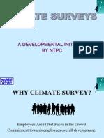 Employee Surveys in Ntpc