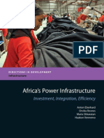 Africas Power Infrastructure 2011