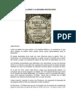 Sts Martin Lutero y La Reforma Protest Ante
