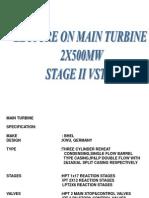 Presentation Main Turbine