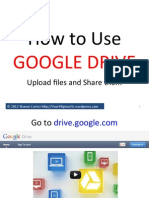 How to Upload and Share Files in Google Drive