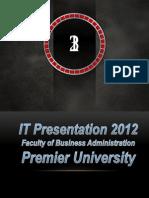 Mobile Tracker [ IT PRESENTATION-2012 ]
