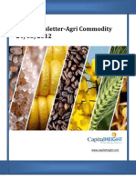 Daily AgriCommodity Newsletter 24-05-2012