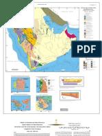 Saudi Tectonic Map